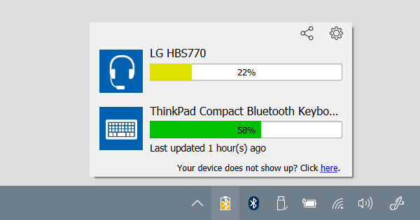 Bluetooth Battery Monitor